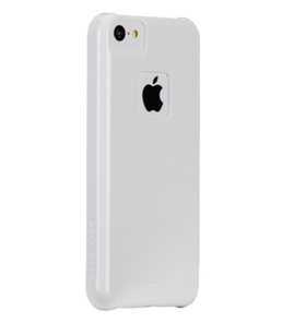 Carcasa Case-Mate Barely There Case para iPhone 5C Color Blanco / 846127155588