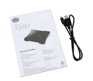 Base para Laptop Cooler Master Note Pal X-LITE II con 1 Ventilador, para Laptops de hasta 15.6""