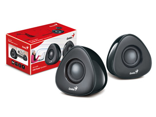 Bocinas Genius SP-U150X, USB, Plug And Play 4 Vatios / 31730992100