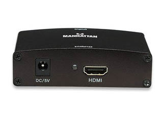 Convertidor Video VGA macho + Audio (2 RCA hembra) A HDMI
