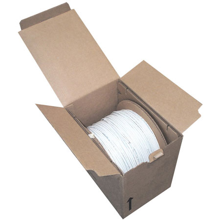 Bobina Cable UTP Cat. 5E, 4 Pares, 305 Metros (1,000 ft), 24AWG, Color Gris, Intellinet 362320