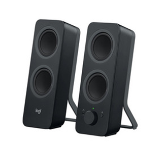 Bocinas 2.0 Z207, Interfaz Bluetooth y 3.5 mm, Color Negro, RMS: 5W, Logitech 980-001294