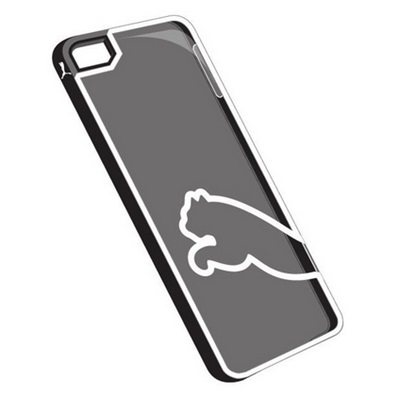Carcasa Puma Monoline Case para iPhone 5 & 5S Color Negro / 886510040305