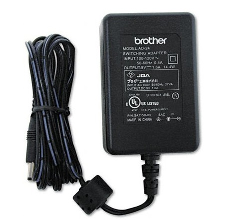 Adaptador de Corriente Brother para Rotuladores P-Touch