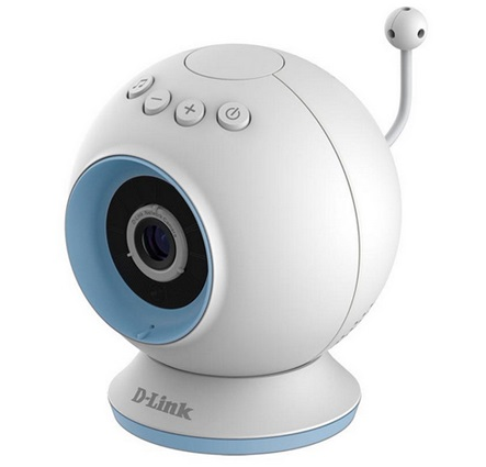 Cámara IP D-Link DCS-825L Eye On Baby Camera, Wifi, Audio, Sonido, Mobile App