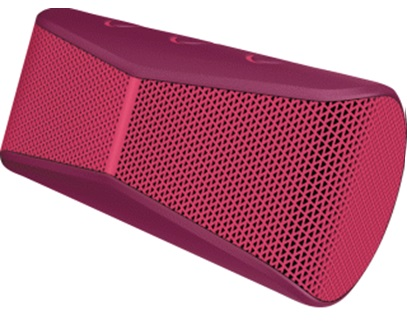 Bocina Bluetooth X300, Recargable, Portátil, Color Rojo, Logitech 984-000406