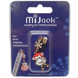 Accesorio Jack 3.5mm para iPod, Tablets y Celulares,. Phone Jack - Monkey-E