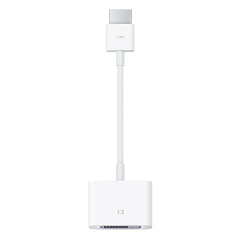 Adaptador HDMI - DVI-D, APPLE MJVU2AM/A