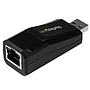 Adaptador Tarjeta de Red Externa NIC USB 3.0 a 1 Puerto Gigabit Ethernet 1Gbps RJ45 USB A Sin Dongle
