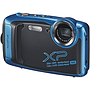Cámara Digital Acuática FinePix XP140, Color SkyBlue, 16.4 MP, Vídeo 4K, 28mm, Bluetooth, WiFi, Fujifilm FX-XP140SB-US