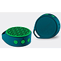 Bocina Bluetooth X50, Recargable, Color Verde/Azul, 3.5 mm, Potencia 3W, Logitech 980-001072